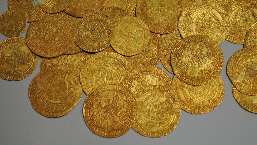 Israel: Escolares hallan una extraña moneda bizantina de 1.600 años (FOTO)