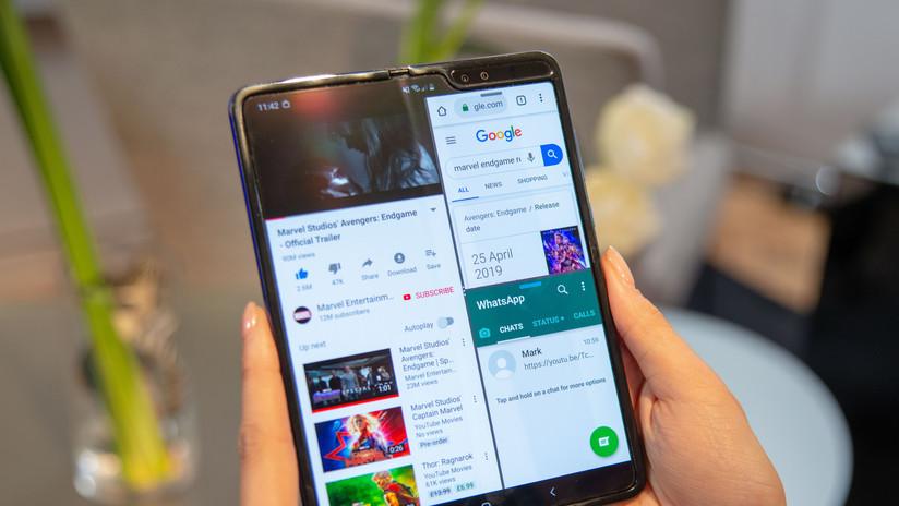 Parpadeos, bisagras y una corta vida: El teléfono plegable de Samsung deja 'planchados' a los expertos