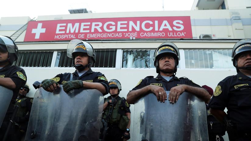 VIDEO: Trasladan el cuerpo del expresidente peruano Alan García a la sede de su partido