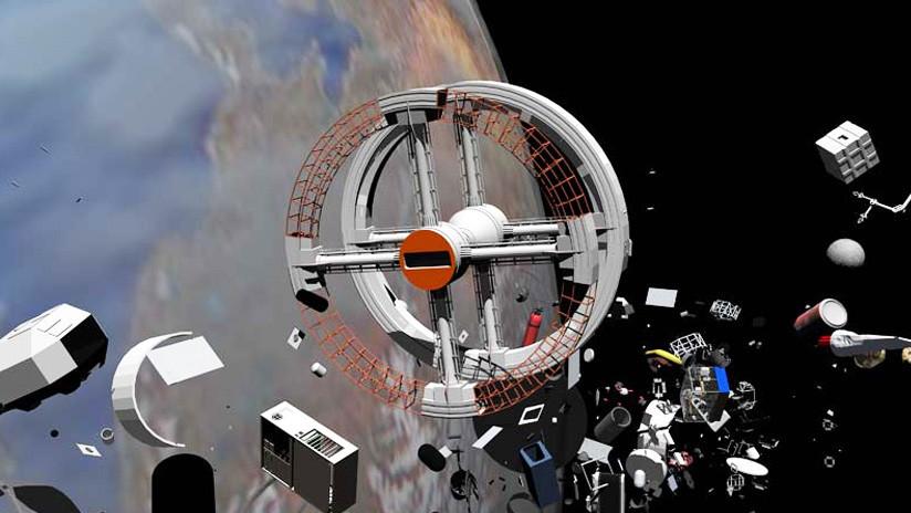 Científicos rusos proponen luchar contra la basura espacial con un 'lazo'