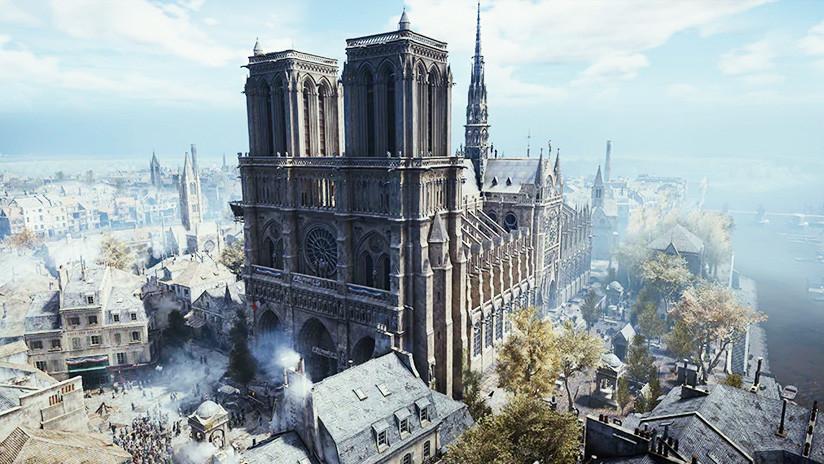 Ubisoft deja descargar gratis el videojuego 'Assassin's Creed Unity' en solidaridad con Notre Dame