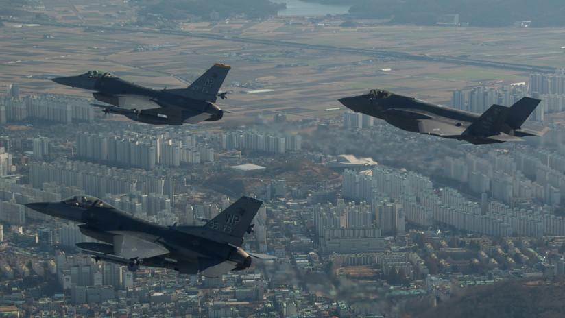 EE.UU. despliega por primera vez cazas furtivos F-35A en Oriente Medio
