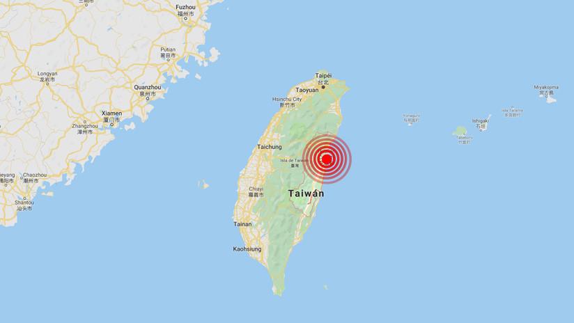 Un fuerte sismo de magnitud 6,1 sacude Taiwán y hace temblar edificios en Taipéi