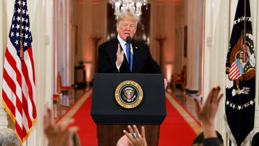 """Trump asegura que las elecciones presidenciales de 2016 """"no se vieron afectadas"""" por la injerencia rusa"""
