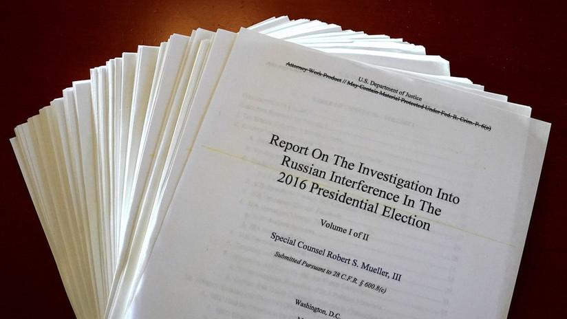"""Moscú: El informe de Mueller """"no contiene evidencias argumentadas"""" de que Rusia interfirió en las elecciones en EE.UU."""