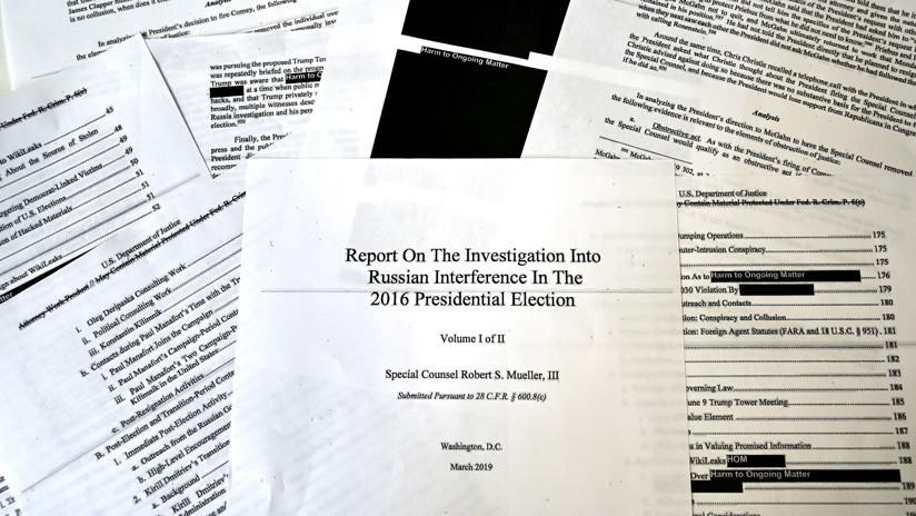 El Comité Judicial de la Cámara de Representantes de EE.UU. cita al fiscal general por el informe no redactado de Mueller