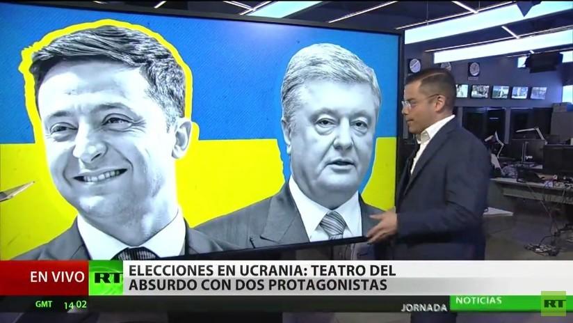 Ucrania: Expectación por el debate entre Poroshenko y Zelenski