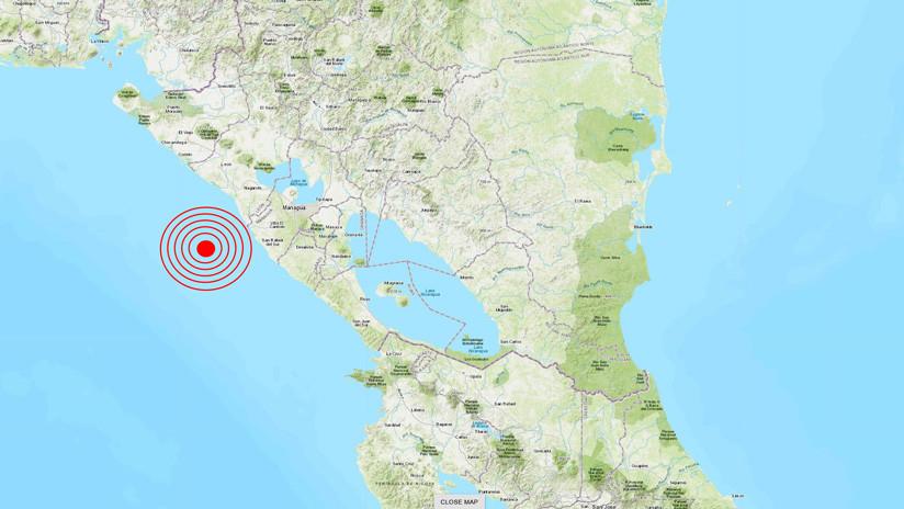 Se registra un sismo de magnitud 5,4 en Nicaragua que se siente también en El Salvador