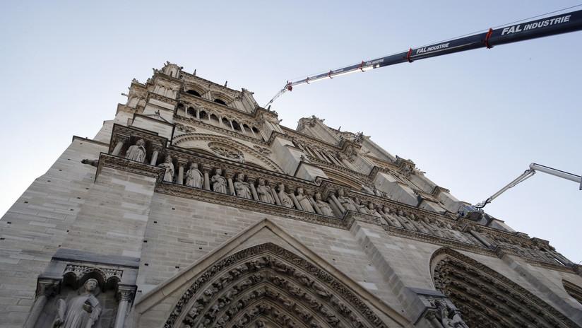 Aprovechan el incendio de Notre Dame para crear una página falsa y pedir donaciones para reconstruirla