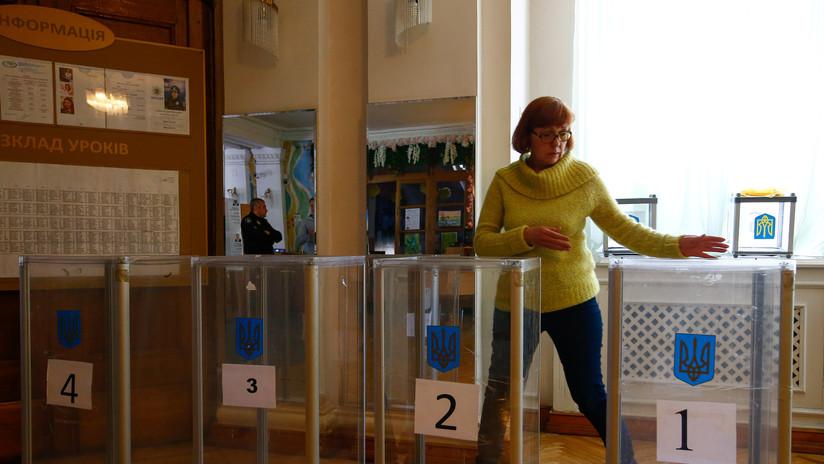 Presidente electo de Ucrania rafaguea al parlamento
