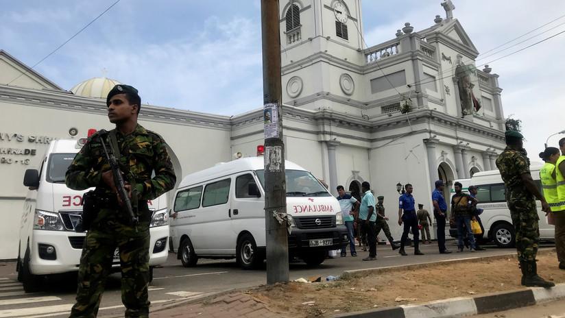Iglesias y hoteles de Sri Lanka sacudidas por explosiones