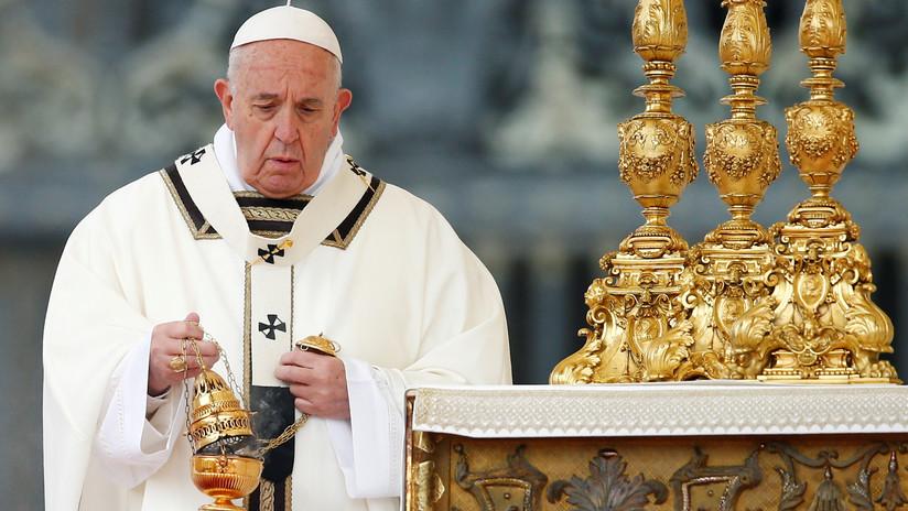 VIDEO: El papa Francisco oficia la misa de Pascua e imparte la bendición 'Urbi et orbi'