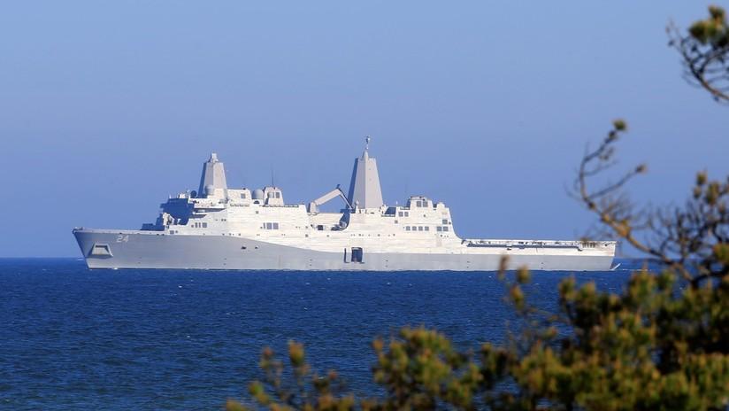 EE.UU.: Una oficial de la Marina denuncia que encontró una cámara oculta en el baño de mujeres de un buque
