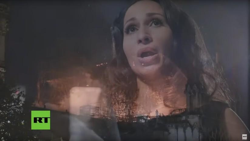 Cantantes de ópera rusos entonan el 'Ave María' en homenaje a Notre Dame (VIDEO)