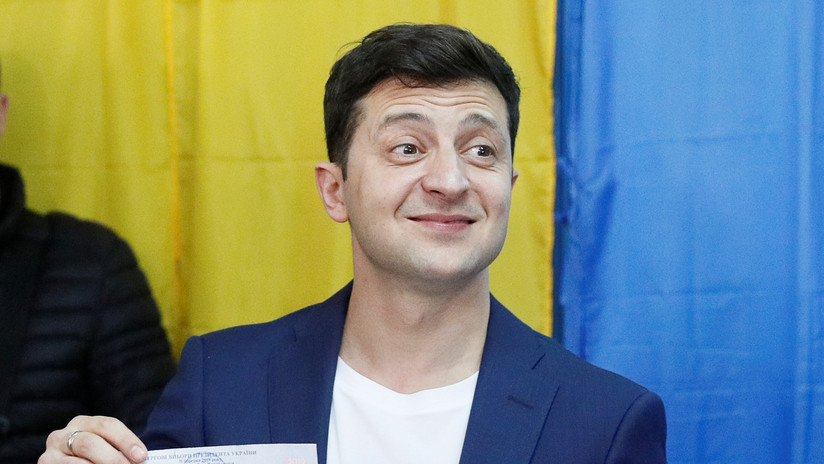 Vladímir Zelenski gana las elecciones presidenciales de Ucrania con un 73,22 % de los votos