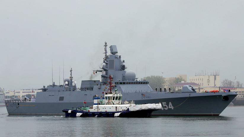 FOTOS, VIDEOS: Naves de Rusia y la India llegan a China para participar en las celebraciones del 70.º aniversario desu Armada