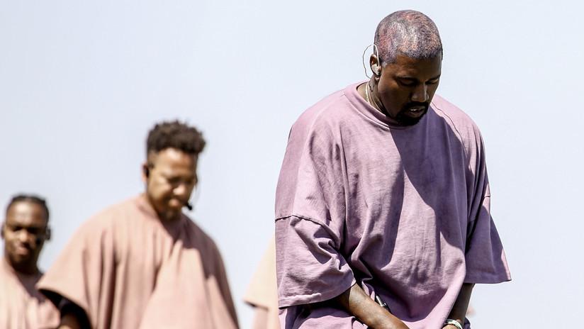 VIDEO: Las redes se llenan de memes tras inusual transmisión de la misa de Kanye West al estilo 'ojo de pez'