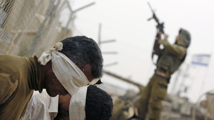 Ejército israelí dispara a un adolescente palestino esposado y con los ojos vendados cuando intentaba fugarse
