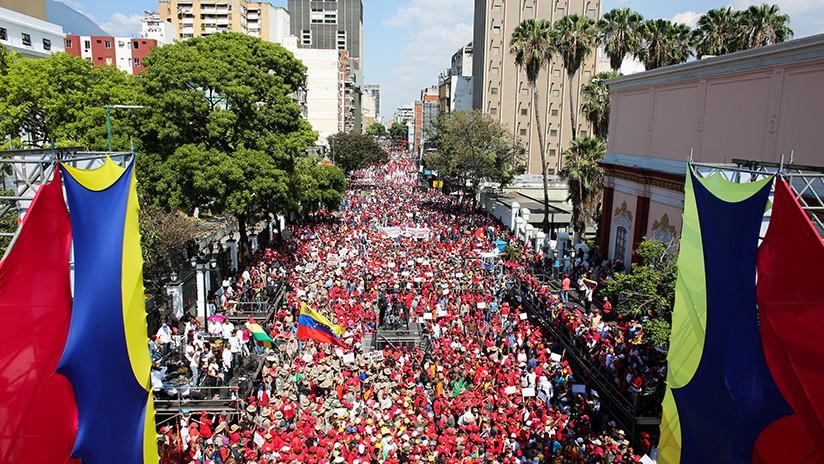 Chavismo convoca a movilización para celebrar salida de Venezuela de la OEA