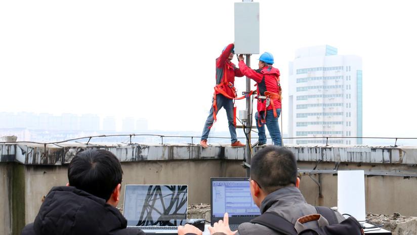 China despliega redes 5G en siete ciudades del país