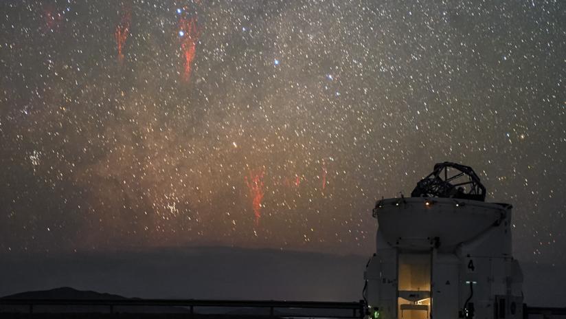 FOTOS: Captan a unas peculiares medusas iluminando el cielo tras una tormenta en EE.UU.