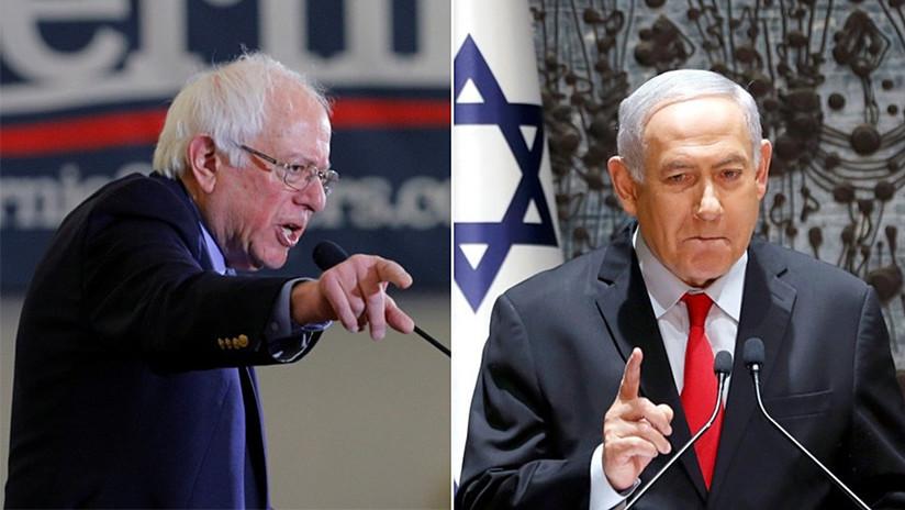 """""""Racista y de derecha"""": El senador Bernie Sanders arremete contra el gobierno de Benjamín Netanyahu (VIDEO)"""