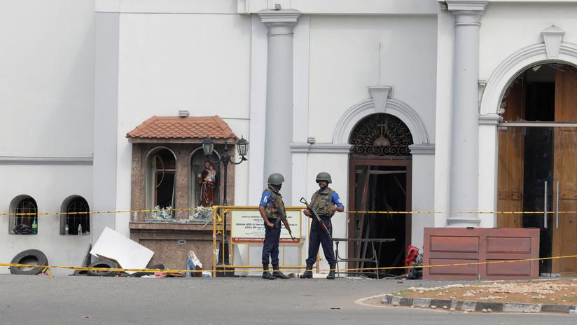 VIDEO: Los presuntos terroristas de Sri Lanka momentos antes de uno de los mortíferos atentados en un hotel