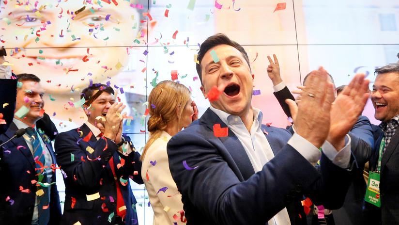 Zelenski bate récords al ganar las presidenciales ucranianas con el 73,22 % de los votos con el 100% escrutado
