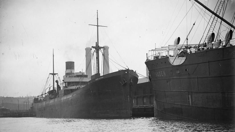 FOTOS: Un carguero hundido por los japoneses durante la Segunda Guerra Mundial es descubierto tras 77 años en el fondo del mar