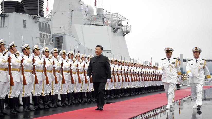 China organiza un gran desfile con buques y aviones para celebrar los 70 años de su Armada (VIDEOS, IMÁGENES)