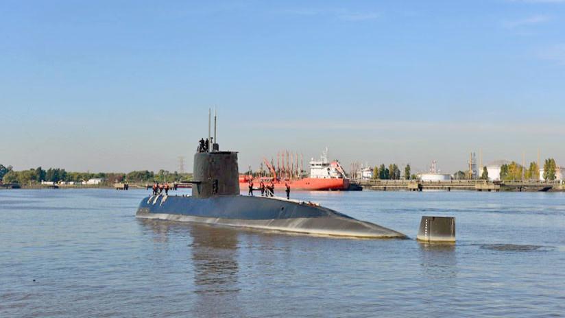 Familiares de las víctimas del ARA San Juan ven por primera vez  las imágenes del submarino argentino