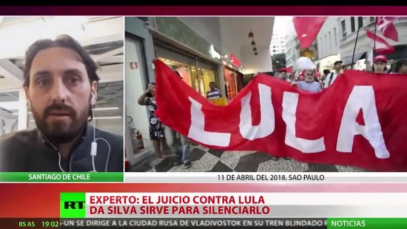 """Experto: """"El motivo del arresto de Lula da Silva es político y por eso la reducción de su pena es una medida mínima"""""""