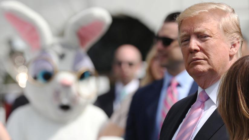 """Trump exige que The New York Times le pida disculpas """"de rodillas"""" por sus """"noticias falsas"""" tras la publicación del informe Mueller"""