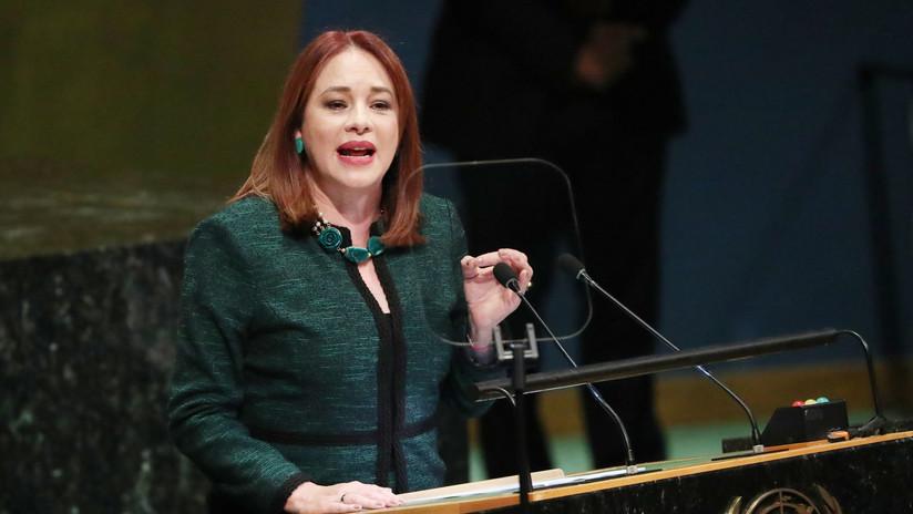 El Parlamento ecuatoriano aprueba un proceso de juicio político contra la excanciller María Fernanda Espinosa