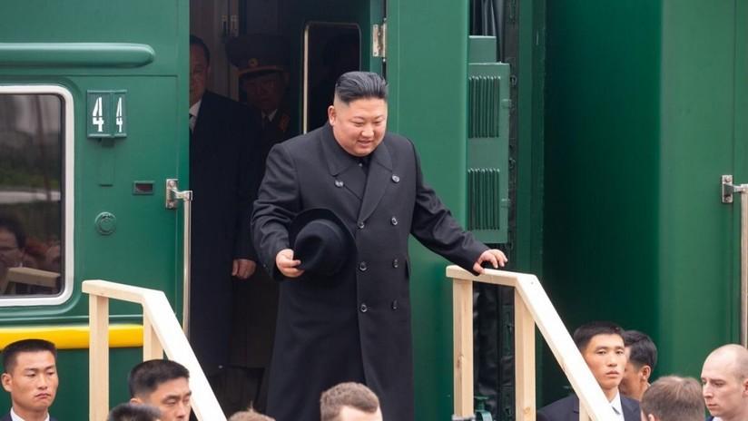 """Kim Jong-un tras su llegada a Rusia: """"Estoy feliz de pisar suelo ruso"""""""