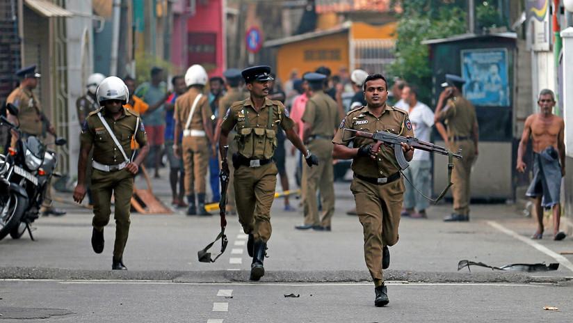 La Policía de Sri Lanka realizó una explosión controlada en Colombo