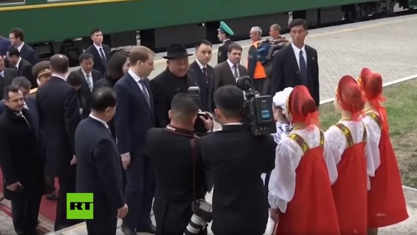 VIDEO: Kim Jong-un hace una primera parada en Rusia antes de reunirse con Vladímir Putin
