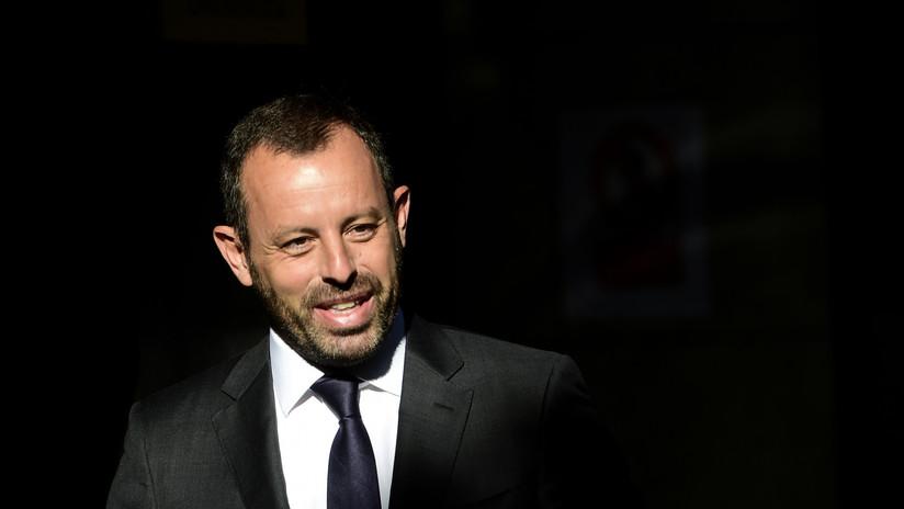La Justicia española absuelve de blanqueo de capitales al expresidente del Barcelona Sandro Rosell tras 21 meses en prisión