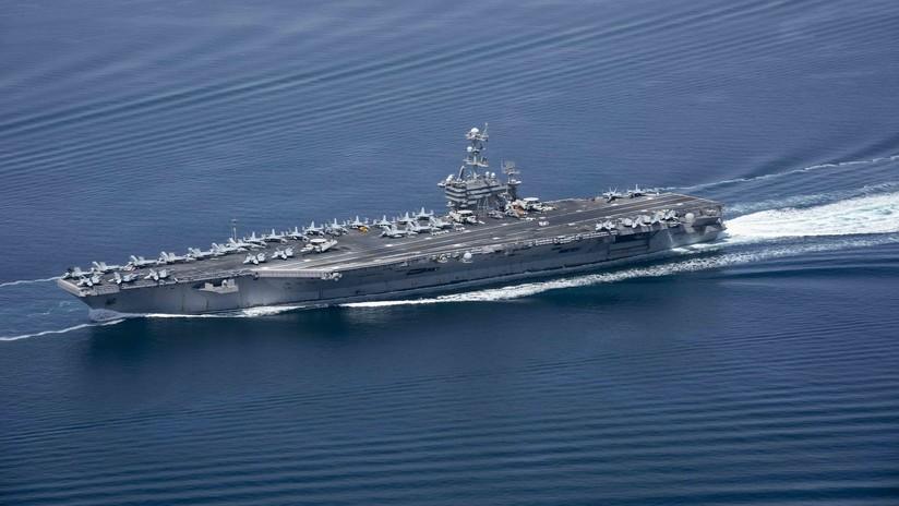 """""""200.000 toneladas de diplomacia"""": Embajador de EE.UU. en Rusia define así los ejercicios de dos portaviones en el mar Mediterráneo"""