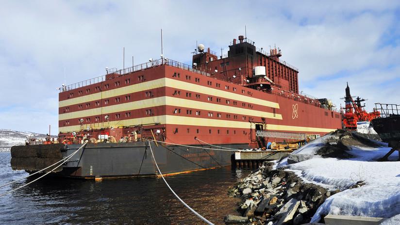 FOTOS: Rusia concluye las pruebas de la única central nuclear flotante del mundo