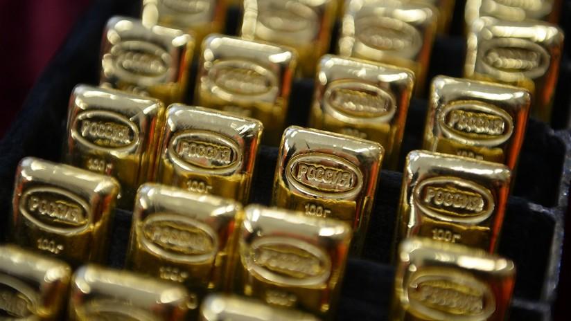 Rusia prosigue su compra de oro y añade 600.000 onzas a sus reservas