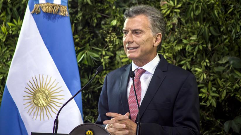 """Macri asegura que el Riesgo país sube porque """"el mundo tiene miedo de que los argentinos quieran volver atrás"""""""