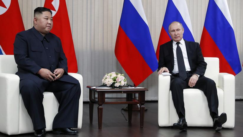 """Putin: """"Rusia aplaude los esfuerzos norcoreanos para normalizar las relaciones con EE.UU."""""""