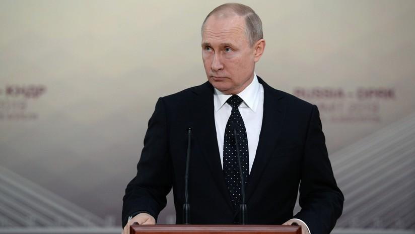 """""""No hay secretos"""": Putin afirma que está listo para informar a Trump sobre su reunión con Kim"""