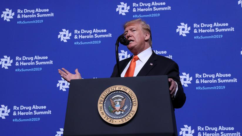 Trump afirma que los perros detectan las drogas mejor que aparatos valorados en millones de dólares