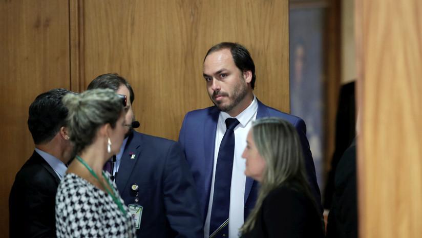 Guerra política en las redes: Un hijo de Bolsonaro arremete contra el vicepresidente de Brasil