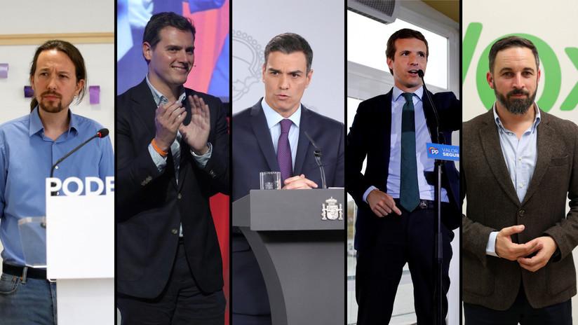 De la extrema derecha a la izquierda: España celebra las elecciones más fragmentadas de su historia