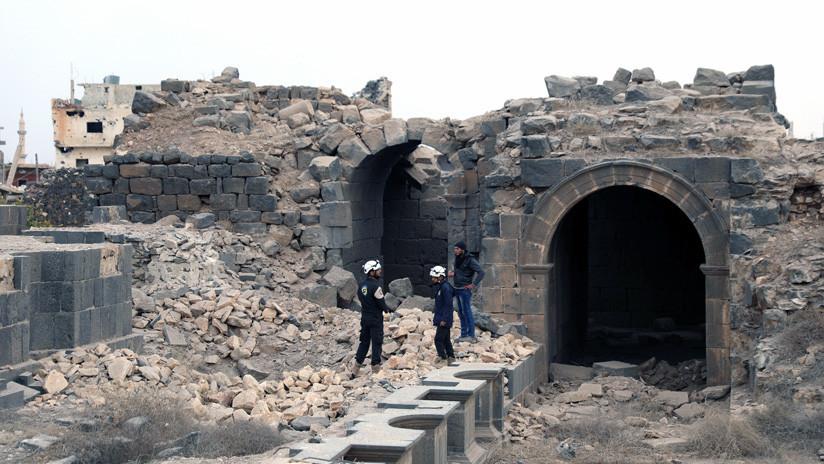 Fundación rusa: Cascos Blancos confirman haber escenificado ataques químicos en Siria