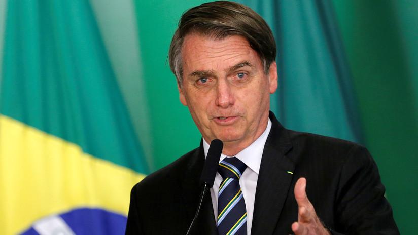 """Bolsonaro, preocupado por """"las 1.000 amputaciones de pene"""" anuales en su país"""