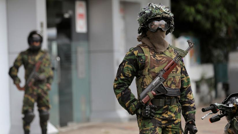 Tiroteo entre militares y sospechosos de los atentados en Sri Lanka